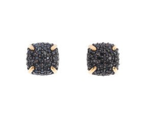 Limited Edition 9ct Yellow Gold Spinel Cluster Earrings