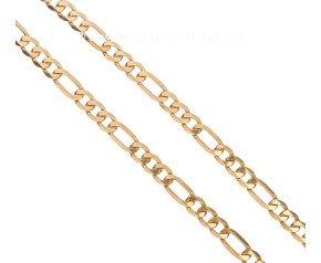 9ct Yellow Gold 6.70mm Figaro Chain