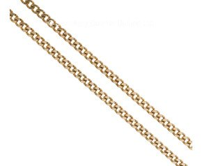"Pre-owned 9ct Yellow Gold 30"" Curb Chain"