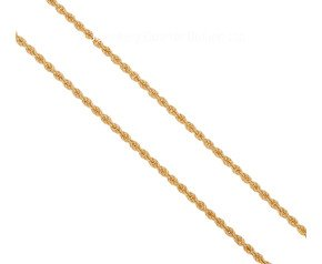 "Pre-owned 18ct Yellow Gold 16"" Fancy Rope Chain"