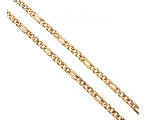 Pre-owned 18ct Yellow Gold Figaro Chain