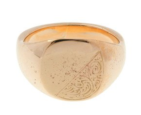 Pre-owned Men's Signet Ring
