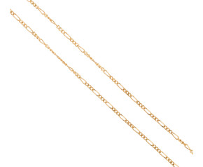Pre-owned 9ct Yellow Gold Figaro Belcher Chain