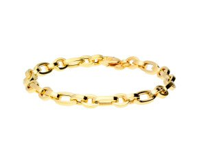 9ct Yellow Gold Fancy Link Bracelet