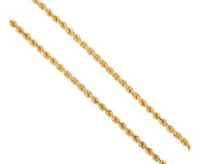 "Pre-owned 18"" Gold Rope Chain"