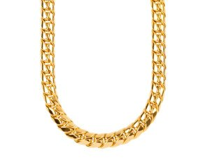 Pre-owned 18ct Yellow Gold 12mm Curb Chain