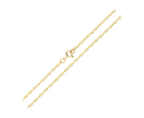 9ct Gold Prince of Wales Rope Chain