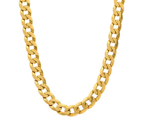9ct Yellow Gold Filed Curb Chain
