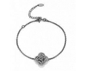 Sterling Silver & Black Rhodium Vermeil Mini Cascade Bracelet