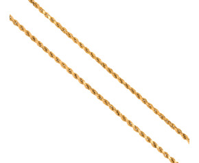 Pre-Worn 22ct Gold Rope Chain Necklace