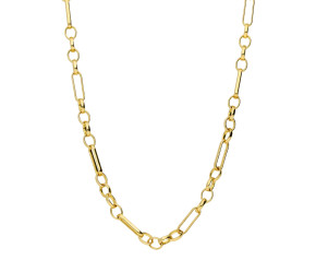 9ct Yellow Gold 3.98mm Figaro Belcher Chain
