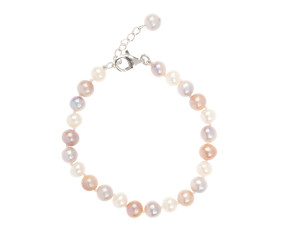 Freshwater Multi Coloured Pearl Bracelet