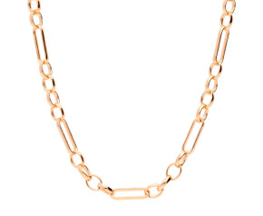 9ct Rose Gold 3.98mm Figaro Belcher Chain