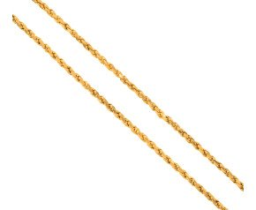 "Pre-owned 26"" Gold Rope Chain"