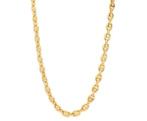 Pre-Owned 9ct Yellow Gold Marina Chain