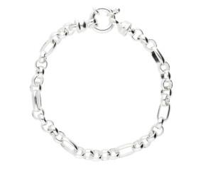 5.5mm Silver Handmade Bracelet