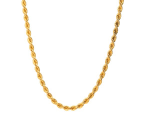 Pre-Owned Rope Chain Necklace