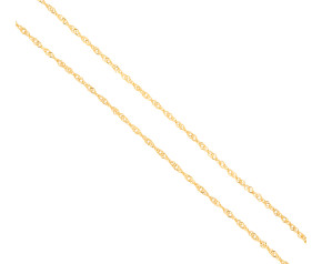Pre-owned 9ct Gold Prince Of Wales Chain
