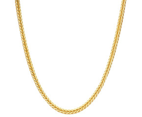 """Pre-Owned 24"""" Gold Foxtail Chain"""