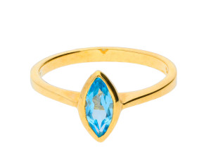 9ct Yellow Gold 0.70ct Topaz Solitaire Ring
