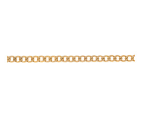Pre-owned 9ct Gold Metric Curb Bracelet