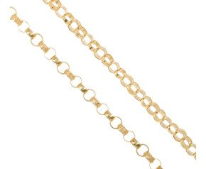 Men's 9ct Yellow Gold 7mm Belcher Chain