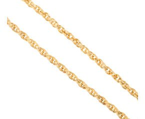 Men's Yellow Gold 5.60mm Prince of Wales Chain