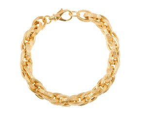 Men's Yellow Gold 8.7mm Prince of Wales Bracelet