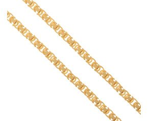 Men's 9ct  Yellow Gold 4.5mm Byzantine Chain