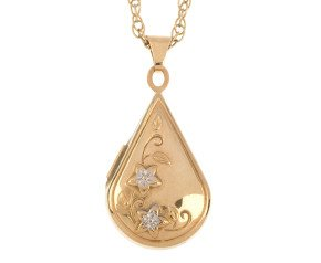 Pre-owned 9ct Yellow Gold Locket