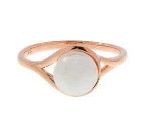 9ct Rose Gold & Pearl Dress Ring