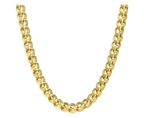 9ct Gold Cascarine Necklace