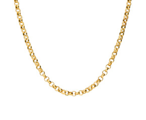 Vintage 9ct Yellow Gold 3.30mm Belcher Chain