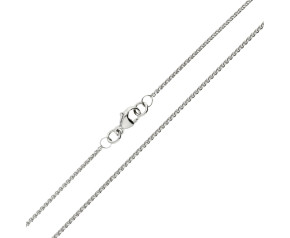 Platinum 1.30mm Spiga Chain
