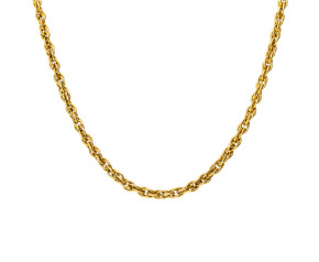 """Vintage 24"""" Fancy Rope Chain"""