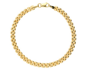 9ct Gold Panther Bracelet