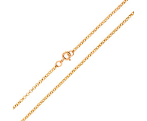 9ct Rose Gold Baby Belcher Chain