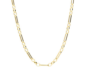 9ct Yellow Gold 2.93mm Figaro Belcher Chain