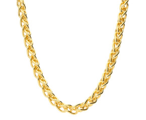 18ct Yellow Gold 4.20mm Spiga Chain