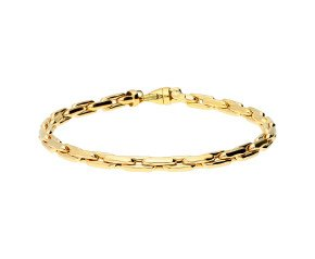 9ct Yellow Gold 4.1mm Fancy Chain Bracelet