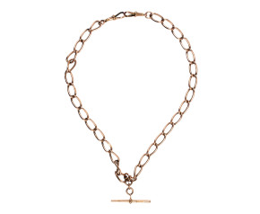 Victorian 9ct Rose Gold Albert Chain