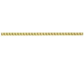 9ct Yellow Gold 2.40mm Franco Chain