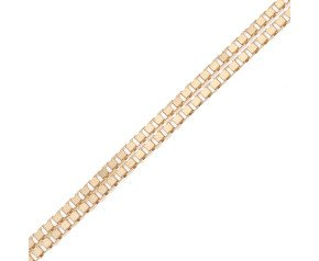 9ct Yellow Gold 0.80mm Venetian Box Chain