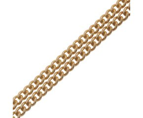9ct Gold Filed Curb Chain