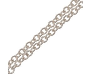 18ct White Gold 1.76mm Trace Chain