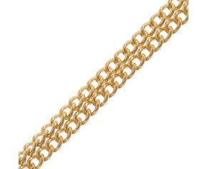 9ct Yellow Gold 1.37mm Curb Chain