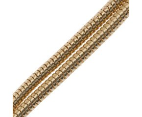 9ct Yellow Gold 2.40mm Snake Chain