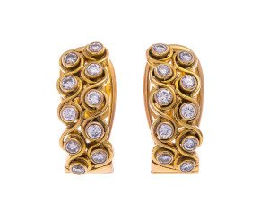 Pre-Owned 1.00ct Diamond Earrings