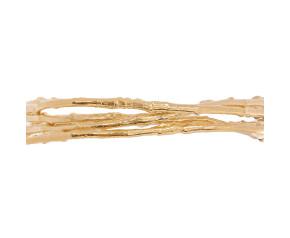 18ct Gold Vermeil Twig Cuff