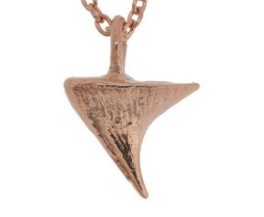 18ct Rose Gold Vermeil Rose Thorn Short Necklace